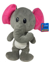 "Six Flags Soft Plush Elephant Gray Soft Stuffed Animal Prize 15"" Toy - $12.99"