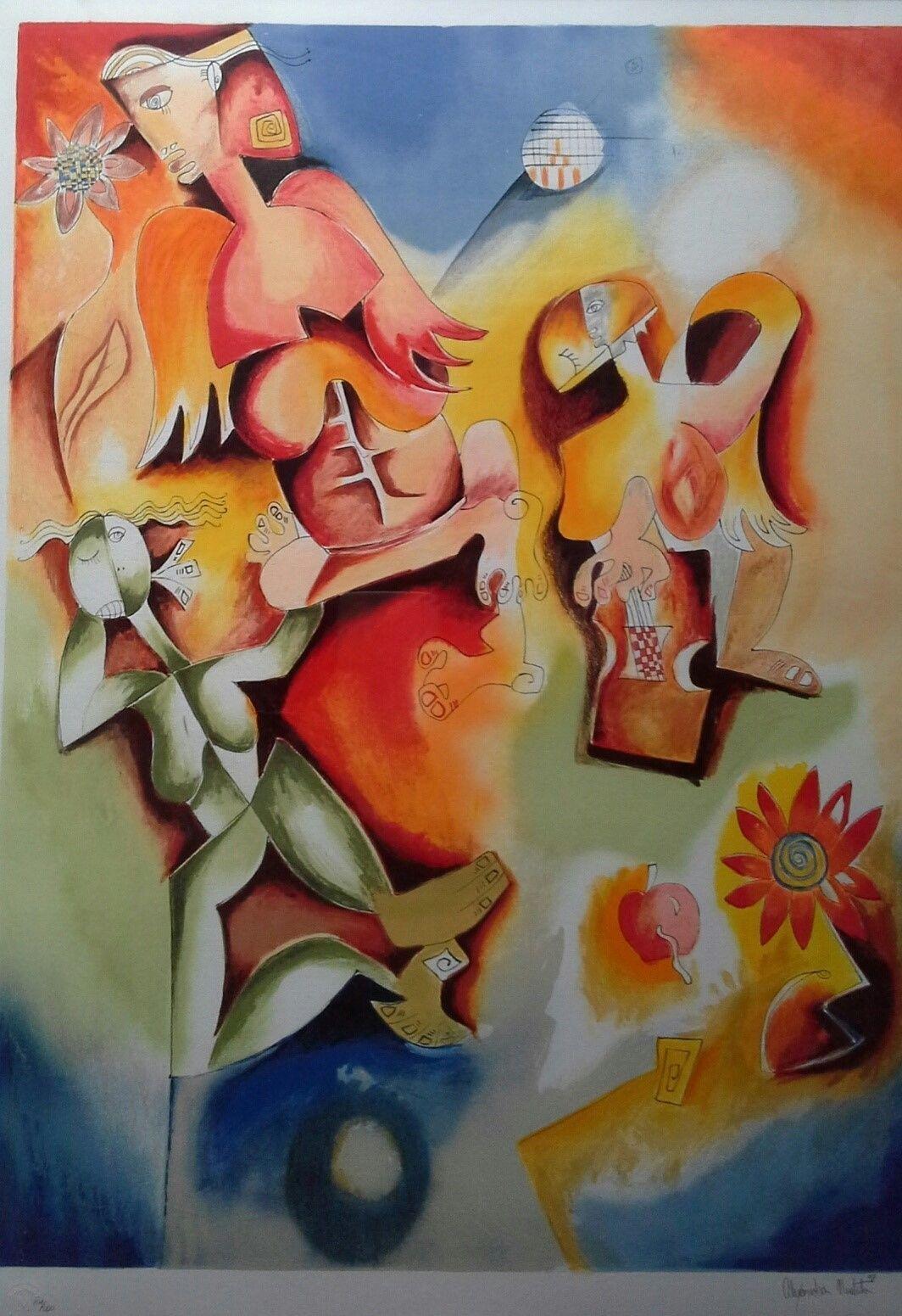 Angel Dance By Alexandra Nechita