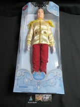 DISNEY STORE Authentic PRINCE CHARMING 12 inch classic DOLL of Cinderella - $29.25