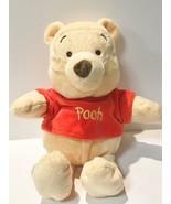 "Disney Baby Kids Preferred Winnie The Pooh 12"" Plush Rattle Bear - $9.49"