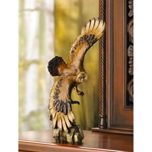 Soaring Eagle American Bald Bird Statue Sculpture - New - $12.76