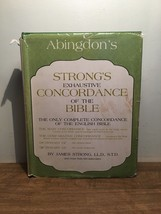 Abingdon's Strong's Exhaustive Concordance of the Bible by James Strong ... - $24.74