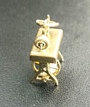 Vintage 14K Sewing Machine Charm - $189.00