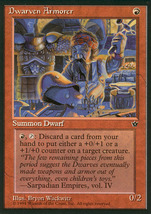 Magic: The Gathering - Fallen Empires - Dwarven Armorer - $0.29