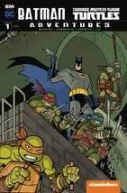 BATMAN TMNT ADVENTURES #1 6 COVER SET 11/09/2016 - $69.99
