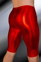 ThunderBox Nylon Spandex Chrome Red Jammer Shorts S, M, L, XL - $28.00