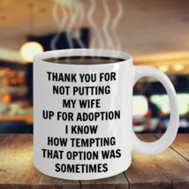 Funny Gift For Father Of Bride Father Mother In Law From Son In Law Coffee Mug - $14.95