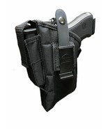 Gun Holster with Extra Magazine Pouch Fits S & W M&P Sigma 40,9mm With L... - $24.95