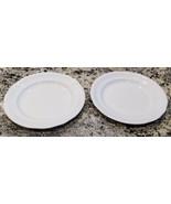 Set of 2 Royal Doulton Profile White Dinner Plates - $70.20