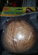 Real Coconut Bikini Top [Amscan] New - $9.85