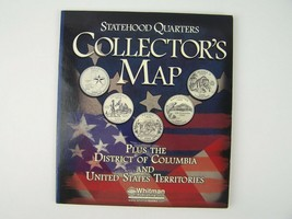 Whitman Statehood Quarters Collector's Map Coin Book - $14.84