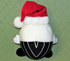 "DISNEY JACK SKELLINGTON SANTA PLUSH NIGHTMARE BEFORE CHRISTMAS 8"" ROUND PLUSH image 3"