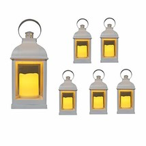 """Just In Time for Spring"" {6pc Set} 10"" Decorative Lanterns + L E D Ligh... - $75.17"