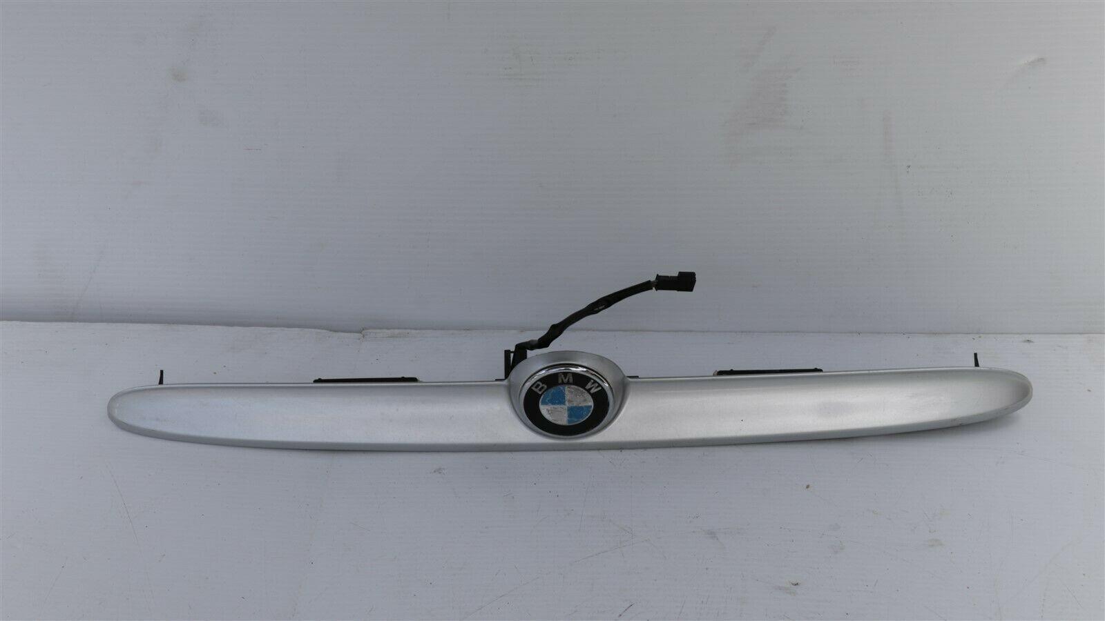 01-06 BMW E46 Convertible M3 325Ci 330Ci License Tag Light Trunk Trim Handle