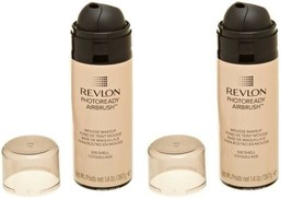 Lot of 2: NEW REVLON PhotoReady Airbrush Mousse Makeup in 020 Shell (Sea... - $19.79