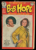 ADVENTURES OF BOB HOPE #2 1950-DC--MOVIE PHOTO COVER G- - $94.58
