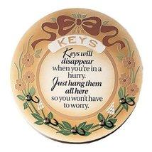 Dexsa Simple Expressions ''Keys Will Disappear...'' Embossed Wood Key Rack - $12.99