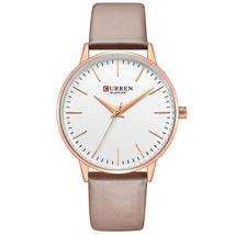 CURREN Top Brand Women Watches Women's Quartz Leather Wrist Watch Girls Ladies D - $35.31