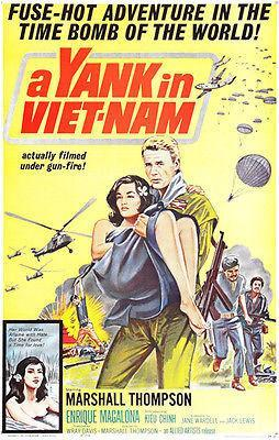 Primary image for A Yank in Vietnam - 1964 - Movie Poster