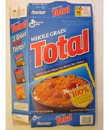 Empty GENERAL MILLS Cereal Box 1996 TOTAL 18 oz Series 88 - $3.19