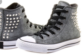 Converse Chuck Taylor All Star Collar Studs Sneackers - $69.99