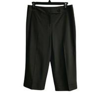Ann Taylor Women's Capri Pants Brown Regular Fit Sz 6 - $20.78