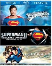 Superman: The Movie / Superman 2 Richard Donner Cut / Superman Returns [Blu-ray]
