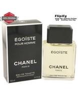 Egoiste For Men edt ByChanel Par is-1.7 oz/100ml New. Free Shipping - $97.47