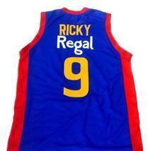 Rubio Ricky #9 Spain Espana Regal Men Basketball Jersey Blue Any Size image 5