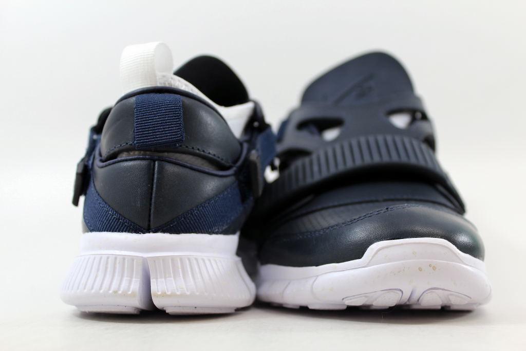 ee0630fbe80c ... Nike Free Huarache Carnivore SP Obsidian White-Catalina-Black  801759-413 SZ ...