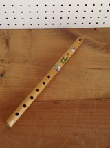 "14.5"" WOOD RECORDER WITH PARROT DESIGN                                  ... - $14.50"