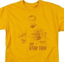 Star Trek James Kirk t-shirt The Final Frontier classic TV graphic tee CBS1121 image 2