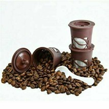 3-Pack: Reusable Coffee Filter Pods for Single-Serve Keurig Brewers - $8.99
