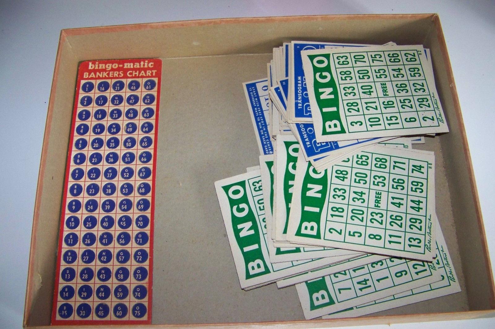 Vintage Bingo-Matic Transogram Game in Box 5984 image 3