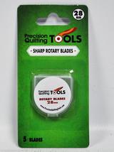 Precision Quilting Tools 28mm Lâme Pivotante 5 Comte - $16.03