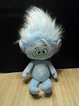 "Dreamworks Hasbro Plush Troll Guy Diamond 21"" Stuffed Animal Plushie Blue  - $12.92"