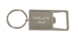 Father of the Bride Gift, Brides Father Keychain - Bottle Opener Keychain - €10,57 EUR