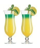 Pack of 2  Barware Polycarbonate Unbreakable Cyclone Cocktail Glass  410ml - $37.99