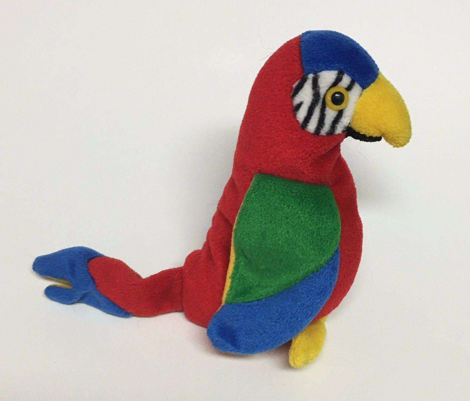 86b07c87ef3 Ty Beanie Babies Jabber parrot Stuffed Plush and 50 similar items. S l1600
