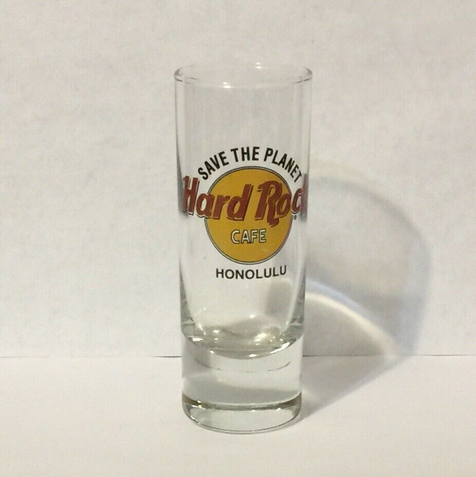 Hard Rock Cafe Honolulu Shot Glass