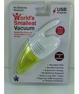 USB PoweredVacuum  Worlds Smallest Vacuum Westminster Extra Long Cable PC - $17.82