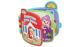 Fisher-Price Laugh & Learn Counting With Puppy Book Light-Up Sun And Fun... - $21.95