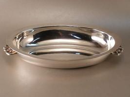 Vintage Silver Plated Oval Vegetable Bowl - (sku#1207) - $28.48