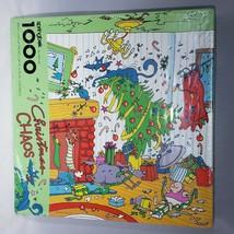 Springbok Christmas Chaos Jigsaw Puzzle 1000 Pieces ZXS4806 Cartoon Art ... - $45.95