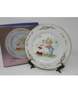 GEORGE GOOD PLATE EVE ROCKWELL'S VALENTINE'S DAY PLATE 1980 BOXED - $9.95
