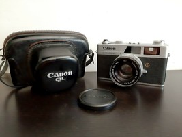 Canon Canonet QL19 Quick Loading Camera 45mm 1:1.9 Lens Original leather... - $143.55