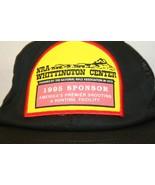 NRA Whittington Ctr 1995 Sponsor Black Vtg Trucker Dad Snapback Mesh Cap... - $24.95