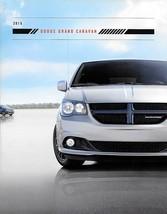 2015 Dodge GRAND CARAVAN sales brochure catalog 15 AVP SE SXT Plus R/T - $6.00