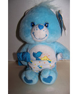 "2003 Carlton Cards 20th Anniversary Care Bears 8"" Plush Baby Tugs Bear - $6.32"