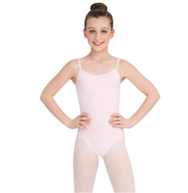 Capezio Big Girls' Classics Camisole Leotard with Adjustable Straps, Pink, Large - $12.61